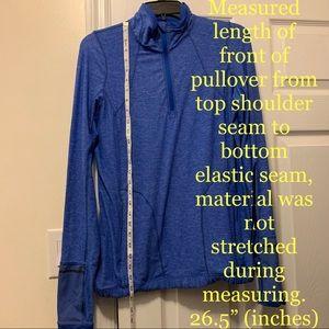 Lululemon womens 1/4 zip pullover lightweight 10